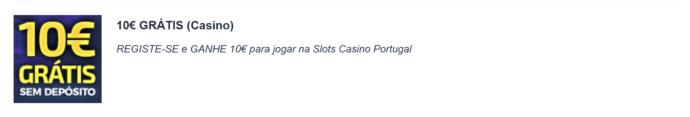 casino portugal bónus sem deposito
