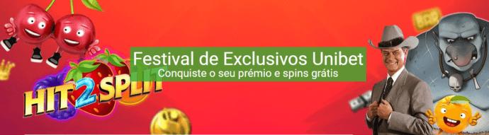festival exclusivo unibet
