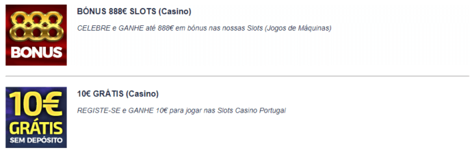 CasinoPortugal Bónus