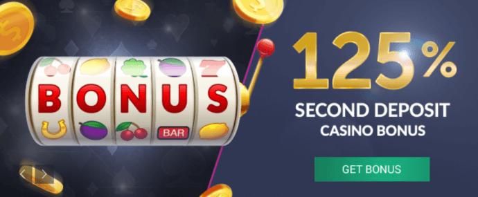 vbet bónus casino 125%