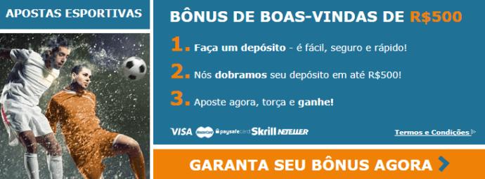 Rivalo bonus de boas-vindas