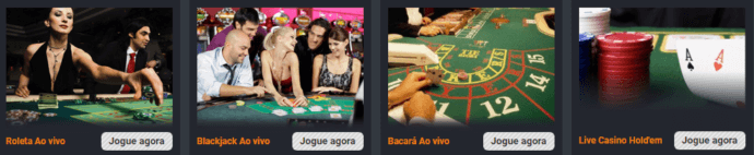 Rivalo casino ao vivo